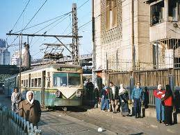Straßenbahn in Ägypten