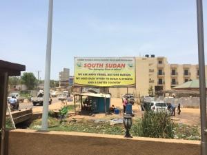Direkt am Flughafenhotel Juba